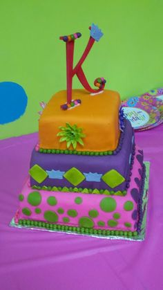 Birthday cake for 8 year old girl!