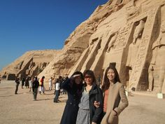 The Smaller Temple at Abu Simbel dedicated to Queen Nefertari.