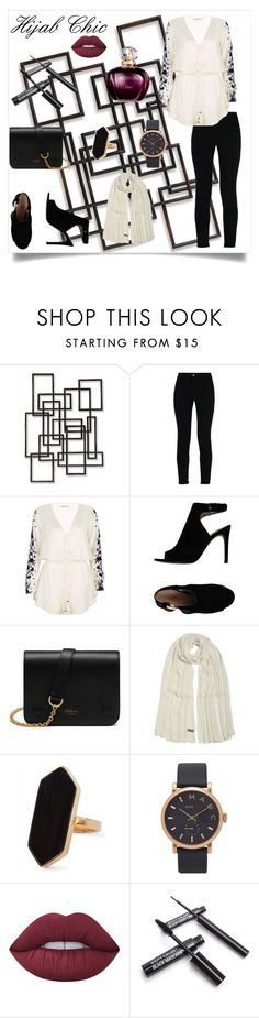 """Hijab Chic"" by selena-styles-ibtissem23 ❤ liked on Polyvore featuring Palecek, STELLA McCARTNEY, Pampelone, Tory Burch, Mulberry, Jaeger, Marc Jacobs and Lime Crime"