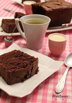 Cake au chocolat fleur de sel Pierre Hermé