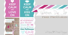 Valentine's Day Prints - free printables by {mama♥miss}