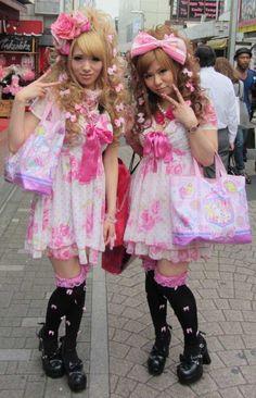 identical dressing,., near enough twins for me.. !  ----------- #japan #japanese #harajuku