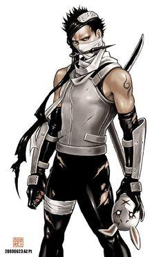 Zabuza - ANBU style Totally gay for Zabuza! Naruto Uzumaki, Anime Naruto, Boruto, Kakashi Itachi, Dc Anime, Naruto Art, Gaara, Anime Comics, Anime Guys