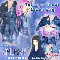 Join in our weekly giveaway to win this amazing Kimono! 1. Follow @spreepicky 2. Like and Repin this pic  3. Finish above and enter here: https://goo.gl/EJg7DR 4. Ends on May 14th,2017
