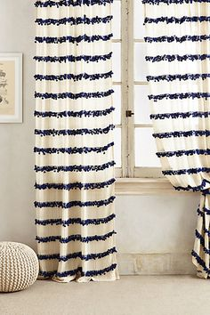 swing stripes curtain #anthroregistry #sale