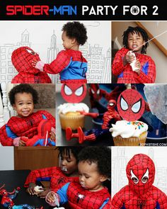 Spider-Man Party For 2 #wmtmoms