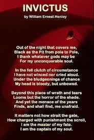 invictus poem -