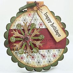 Vintage Ornament Inspired