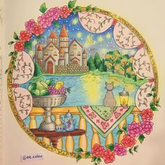 First one from my new #coloringbook Romantic Country 💕😄😍✨ #eriy #romanticcountry #romanticcountrycoloringbook #romanticcountry1 #cocot #mycreativeescape #staedtler #mystaedtler #coloring #coloringforadults #coloringsecrets #color #colorful #drawing #adultcoloring #adultcoloringbook #coloringbookforadults #pencilart #coloredpencil #fabercastell #beautifulcoloring #arttherapy #colortherapy #mycreativeescape #coloringmasterpiece #coloring_secrets