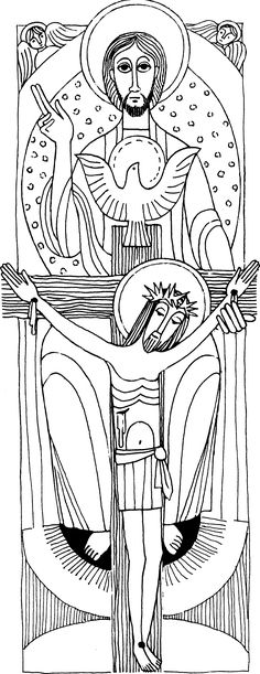 Resultado de imagen para dibujos de la trinidad