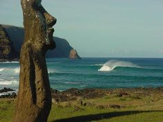 easter island where sara wants to get married <3