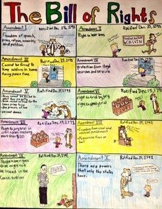Project: The Bill of Rights...could make this into a matching activity