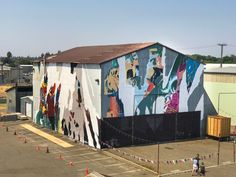 #askewone #muralist #largescalemurals #postgraffiti #glitch #postdigital #graffiti #elliotodonnell #painting