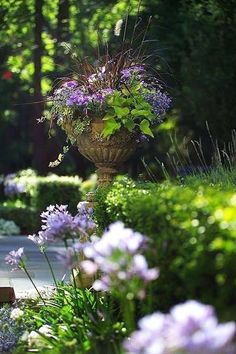 Seasonal Mary Style: Floral Design Urn,