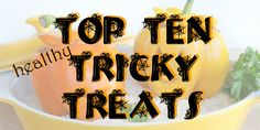 Healthy Halloween treats - achieved! #healthyeating