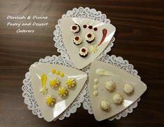 Wedding cake 'tasting' samples