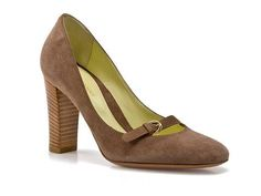 Sergio Rossi Suede Buckle Pump 73% off. now only $149.94