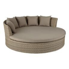 Ibiza Large Round Daybed, Rattan