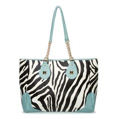 This is a cute tote that is perfect for travel or just running to the grocery store