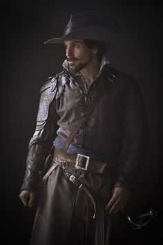 The Musketeers - Aramis, very likely a repin (which I try painstakingly not to do, I'm confident you'll find almost no double posts on my board) but in this case... well I mean just look at him :P