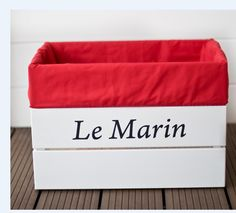 "Skrzynia drewniana "" Le Marin"""