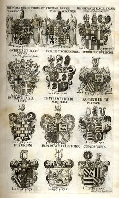 Spener, Philipp Jakob: Historia Insignium Illustrium Seu Operis Heraldici Pars Specialis. - Frankfurt <Main>, 1717. Jpg, Coat Of Arms, Frankfurt, Maine, Guns, History, Mannheim, Crests, Family Crest