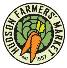 Another logo in a circle. This seems to be a common theme for farmers' markets.