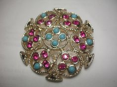 Vintage Sarah Coventry Brooch Rhinestone by vintagelapidarydream, $7.00