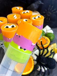 Halloween Monster Party Fudge Fun Easy Recipes, Best Dessert Recipes, Fun Desserts, Breakfast Recipes, Easy Meals, Marshmallow Fudge, Push Up Pops, Flavored Milk, Gel Food Coloring