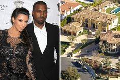 Kim Kardashian and Kanye West's New $11 Million Mansion: Pictures - Kanye West - Zimbio