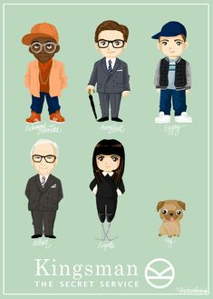 Kingsman, the secret service by Tokyobanhbao www.tokyobanhbao.com