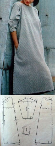 Sewing dress patterns easy ideas for 2019 Sewing Dress, Sewing Clothes, Diy Clothes, Sewing Toys, Sewing Patterns Free, Clothing Patterns, Dress Patterns, Pattern Dress, Sewing Hacks