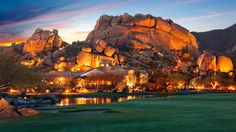 Carefree, AZ. The Boulders a Waldorf-Astoria property. This would be lovely...