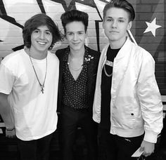 Miles Wesley, Michael Conor and JHype