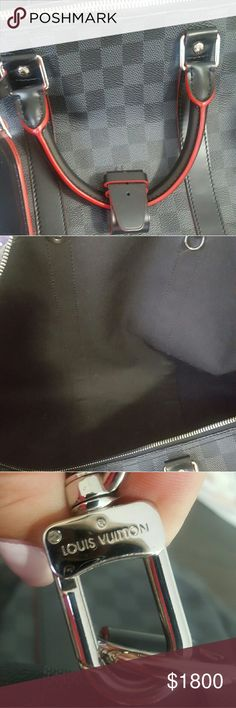Louis Vuitton Duffle Bag Black, used 2 times Louis Vuitton Bags Duffel Bags