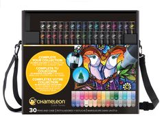 Color Tones - 30 New Colors In Case - Chameleon Art Products