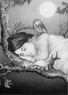 Victoria Luna II by *Veiz  Traditional Art / Drawings