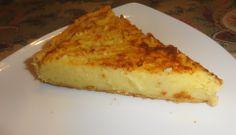 Torta con patate e formaggio