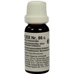 REGENAPLEX Nr.86 c Tropfen:   Packungsinhalt: 15 ml Tropfen PZN: 02643417 Hersteller: REGENAPLEX GmbH Preis: 7,69 EUR inkl. 19 % MwSt.…