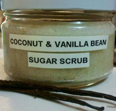 Food Preserving: COCONUT & VANILLA BEAN SUGAR SCRUB