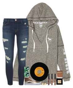 """"""";)"""" by southernstruttin ❤ liked on Polyvore featuring J Brand, Vans, Casetify, Brooks Brothers, Bobbi Brown Cosmetics and tarte"""