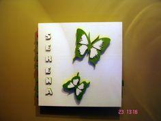 3D Wand Dekoration Butterfly 2
