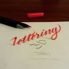 I tried to do 3D lettering with parallelpen&brushpen and pencil. All works are anamorphic. I hope that you will enjoy,Thanks and best regards,Tolga GİRGİN