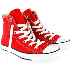 Womens Converse All Star Hi Chuck Taylor High Top Lace Up Boot... found on Polyvore