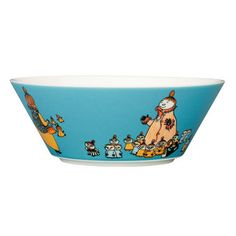 Moomin Mymble's mother bowl by Arabia - The Official Moomin Shop Moomin Shop, Classic Bowls, Nordic Interior Design, Tove Jansson, Happy Mothers, Simple Designs, Design Art, Decorative Bowls, Illustrator