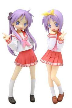 Lucky Star: Hiiragi Kagami & Tsukasa Uniform Ver. Set 1/12 Scale PVC Figure (Set of 2) Wave http://www.amazon.com/dp/B001UE7H1A/ref=cm_sw_r_pi_dp_FguVvb1T5BWGF