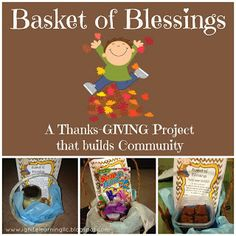 This fun project helps communities focus on their blessings the Thanksgiving and beyond. There is a free printable to get your started with your Basket of Blessings! Conscious Discipline, Community Building, A Classroom, Teacher Stuff, Fun Projects, Consciousness, Blessings, Free Printables, Baskets