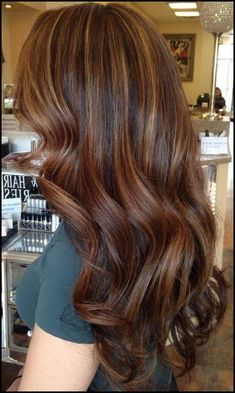 Dark and Light Brown Hair Ideas with Highlights – Best Hair Color ...