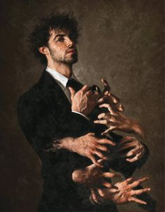 Clean or dirty nails – Dream meanings & interpretations – painting © Giovanni Gasparro – 1983 -… Kreative Portraits, Wow Art, Classical Art, Renaissance Art, Aesthetic Art, Aesthetic Fashion, Dark Art, Oeuvre D'art, Art Inspo