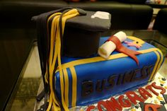 Life is too short, Eat Desserts: Graduation Cake